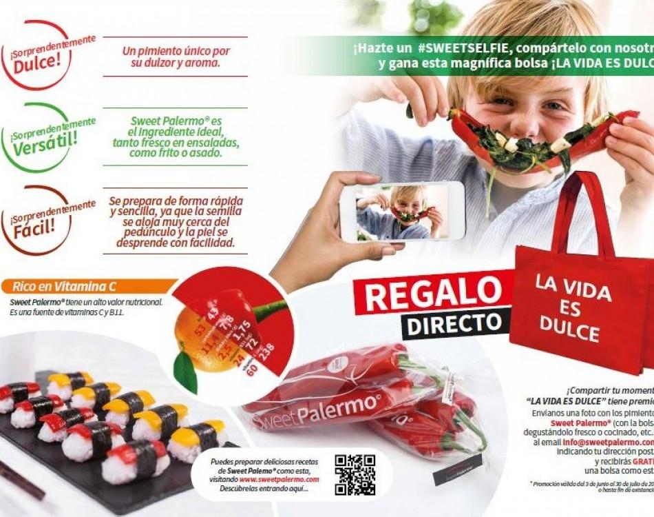 Regalo bolsa Sweet Palermo
